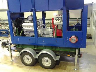 Расширение номенклатуры и модернизация дизельных насосных агрегатов СНП на базе серийных насосов 1Д