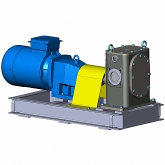 Освоен выпуск новых шестеренных насосов НМШГ120-10 (аналог битумного насоса ДС-125)